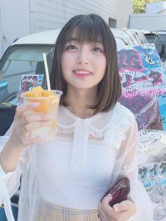 メディアツイート: 清水ひまわり🌻マジパン(@HimaShimizu_Box)さん | Twitter Asian Girl, Flower Girl Dresses, Beautiful Women, Kawaii, Poses, Celebrities, Wedding Dresses, Lady, Pretty