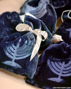 Unique Hanukkah Crafts and Menorahs for  Holiday Decorations