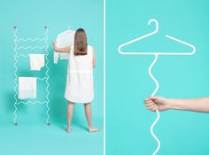 Hi Hangers by Mathery Studio | http://www.yellowtrace.com.au/australian-design-news-october-2014/