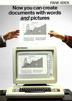 Xerox 8010 Star Information System, 1981.