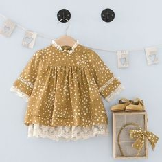 Children's clothing. Little Fashion, Baby Girl Fashion, Kids Fashion, Fashion Sewing, Frocks For Girls, Little Girl Dresses, Cute Baby Clothes, Doll Clothes, Baby Outfits