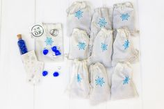 Winter Sparkle Party Favors – Seedling