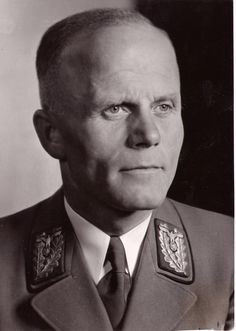 """Karl Wahl (24 September 1892 – 18 February 1981) was the Nazi Gauleiter of Swabia from the Gau inception in 1928 until the collapse of Nazi Germany in 1945. Wahl's own statement after the war was that """"nobody could be found in Swabia who had personally been harmed by him"""", but makes no reference to the last 500 Jewish citizens of Augsburg, who disappeared in concentration camps in the years following the Kristallnacht, when the Augsburg Synagogue was destroyed."""