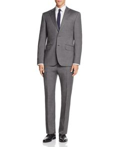 Hardy Amies Nailhead Slim Fit Suit