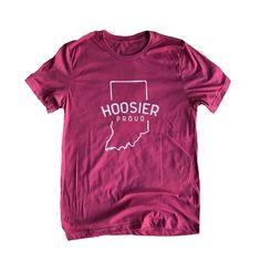Hoosier Proud Logo T-Shirt | Hoosier Proud