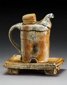 "Judith Duff -  ""Cousins in Clay"" 2012, Seagrove, NC, Bulldog Pottery"