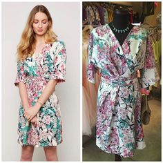 This fab floral dress has quickly become a staff and customer favourite! Dress £59.99, available in sizes 8-16 #libertyblue #belfast #belfastfashion #belfastboutique #newarrivals #springstyle #florals#weddinggueststyle