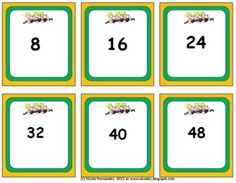 Multiplication Station- A Game of Concentration in Multiplication