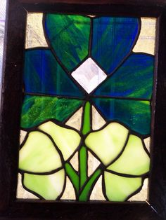 Stained Glass Irish Shamrock by KellyWestProductions on Etsy, $50.00