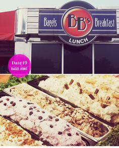 In Honor Of Design: 21 Dates of Summer: Bagel breakfast date