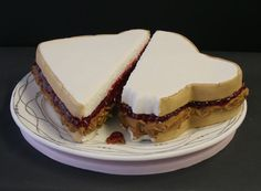 Peanut Butter and Jelly    @Maria Johannesen  This is a cute cake.