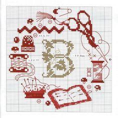 Sew cross stitch