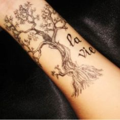 Tree of life tattoo... I want something like this so badly!