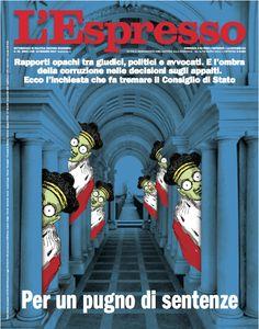 La copertina dell'Espresso in edicola da domenica 14 maggio