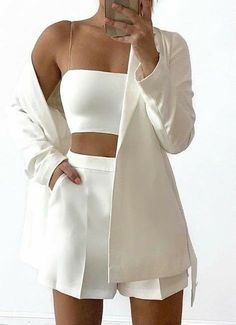 Cute Casual Outfits, Stylish Outfits, Casual Chic, Mode Outfits, Girl Outfits, Elegantes Outfit Frau, Look Fashion, Womens Fashion, Fashion Mode