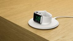 Apple Watch gets an official charging dock for $79  That didn't take long. Hot on the heels of a couple of leaks Apple has released its very own Watch perch: meet the Magnetic Charging Dock. Fork over $79 and you'll get a plastic Lightning-powered saucer that can power the Apple Watch either flat (when you just need a resting place) or upright (if you're using WatchOS 2's nightstand mode). It looks nice and should work particularly well if your watch doubles as a clock although we'd note…