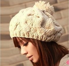 Gorro de Lã Feminino
