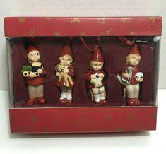Villeroy & Boch Nostalgic Ornaments GNOMES MIB #VilleroyBoch #Christmas Gnome Ornaments, Christmas Ornaments, Vintage Holiday, Gnomes, Holiday Decor, Ebay, Christmas Jewelry, Christmas Decorations, Christmas Decor