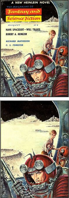 ED EMSHWILLER - Have Space Suit - Will Travel by Robert A. Heinlein - Aug 1958…