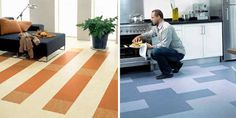 theecolife.net » Eco Underfoot: Marmoleum Offers Distinctive Color and Design