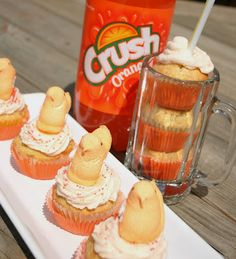 Orange Crush-Cakes - Shugary Sweets
