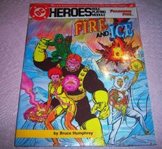 1986 Fire and Ice Fearsome Five DC Heroes RP Module Mayfair 215 RARE Mint NIP…