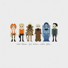 The Fifth Element Cross Stitch Pattern PDF Instant Download