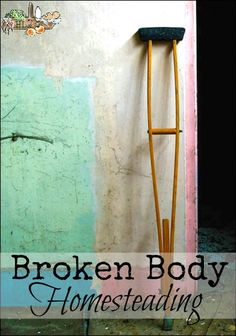 Broken Body Homesteading l Whole Health and Healing Tips and Resources l Homestead Lady.com