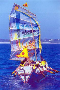 喜納昌吉 出発式は久高島からサバニを漕いで! 30日スケジュール:喜納昌吉 地球に愛を!