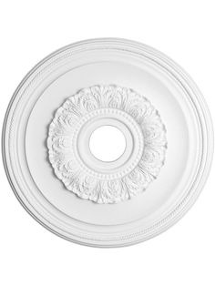 "Ansley 23 3/8"" Ceiling Medallion With 4"" Center Hole (for bathroom chandelier)"