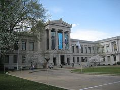 The Museum of Fine Arts in Boston, Massachusetts, is one of the largest museums in the United States. It contains more than 450,000 works of art, making it one of the most comprehensive collections in the Americas.