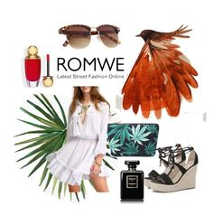 """Bird of paradise"" by chiara-galante on Polyvore featuring Pottery Barn, NOVICA and Chanel"