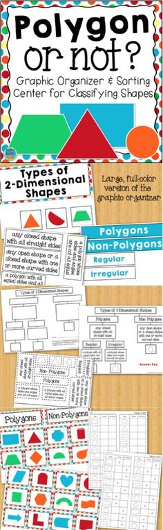 84 best upper elementary math images on pinterest secondary school classifying polygons activity and graphic organizers fandeluxe Gallery