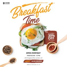Behance is the world's largest creative network for showcasing and discovering creative work Web Design, Food Graphic Design, Food Menu Design, Food Poster Design, Social Media Banner, Social Media Design, Kombi Food Truck, Banner Template, Food Template