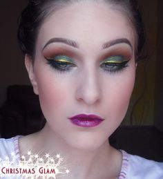 Christmas Glam http://www.makeupbee.com/look.php?look_id=72139