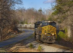 RailPictures.Net Photo: NS 8100 Norfolk Southern GE ES44AC at Stoneville, North Carolina by Trey Belton