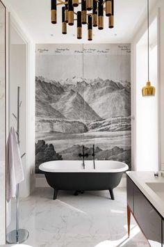 Elegantie pur sang: een badkamer met gouden details - Roomed