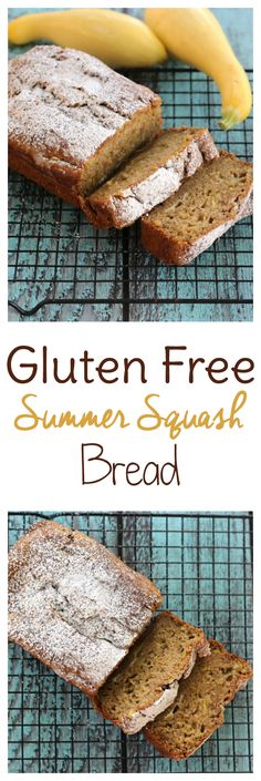 Gluten Free Summer Squash Bread Summer squash coming out your ears? You need some yellow squash recipes! This gluten free summer squash bread will use up your excess produce in the yummiest of ways. Yellow Squash Bread Recipe, Yellow Squash Muffins, Yellow Zucchini Recipes, Summer Squash Bread, Summer Squash Recipes, Gluten Free Breakfasts, Gluten Free Desserts, Gluten Free Recipes, Baking Recipes
