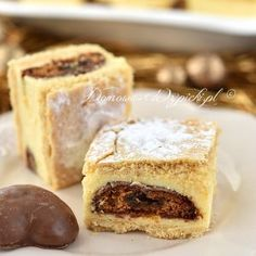 Sernik gotowany z pierniczkami Polish Recipes, Polish Food, Specialty Foods, Chocolate, Food Inspiration, French Toast, Cheesecake, Food And Drink, Cooking Recipes