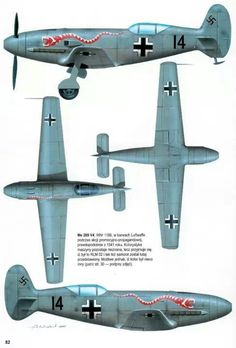 1938 Messerschmitt Me 209 (aka Bf 109), Racing aircraft. Engine: 1 x Daimler-Benz 601 ARJ, Inverted V-12 liquid-cooled piston engine, (1,775 hp). Max Speed: 755 km/h (469 mph, 408 kn)