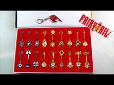Fairy Tail Key Set Collection V03 https://youtu.be/ZwYTW0wOo4I