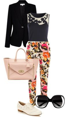 """""""Business Casual"""" by dazzlyn ❤ liked on Polyvore"""