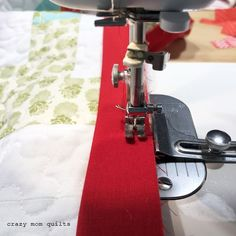 crazy mom quilts: a binding tip