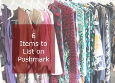 6 Items to List on Poshmark - What to Sell on Poshmark for the New Year| @poshmark