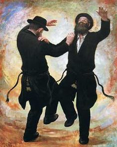 How the Baal Shem Tov changed the way we think about happiness. Rabbi Yisroel (Israel) ben Eliezer (born circa died: 6 Sivan 22 May often called Baal Shem Tov or Besht, was a Jewish mystical rabbi. He is considered to be the founder of Hasidic Judaism. Cultura Judaica, Arte Judaica, Jewish Art, Religious Art, Jewish History, Simchat Torah, Rabbi, Oeuvre D'art, Illustrations