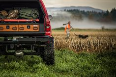 TruckVault products for hunters