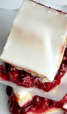 "Carolyn's Oh-So-Easy Cherry Cobbler | ""Canned tart cherries ..."