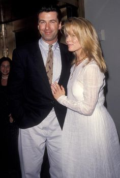 Alec Baldwin and Kim Basinger.                   They were so.... Perfect together !!