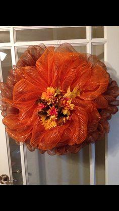 Fall wreath: Deco fall