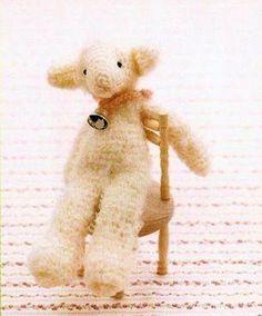 Sheep Amigurumi ( Free Japanese Chart)
